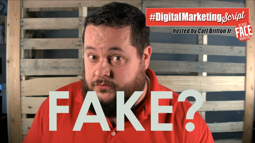 #DigitalMarketingScript Episode 40: Don't Post Fake News!