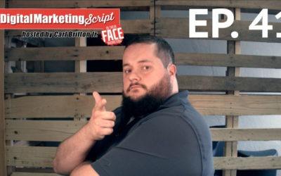 #DigitalMarketingScript Episode 41: Spring Cleaning Social Media